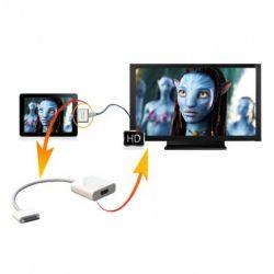 موصل قاعدة جديد إلى محول HDMI لجهاز Apple iPad
