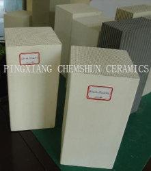 Stockage de la chaleur Honeycomb en céramique pour échangeur de chaleur du substrat