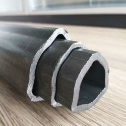 Frío perfecta sacado los tubos de forma triangular de acero al carbono