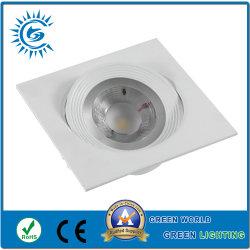 Dimmable runde LED vertiefte Lampen-unten Lampe des Panel-16W für Wohnzimmer