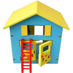 좋은 품질 아이들 나무로 되는 집