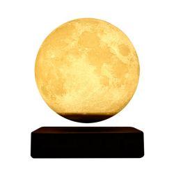 Smart Ler Noite Lua Lampv Mesa flutuante Magnético