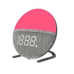 中国で作られた新製品、寝室のための多彩な夜ライト、白い騒音、睡眠の援助の警報の時計