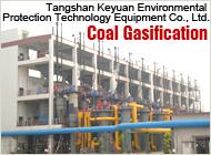 Gaseificação limpo para gás de carvão