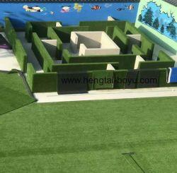 Barato preço azulejos bricolage de relva artificial, Fácil Instalação Turf