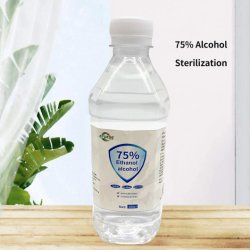 Álcool médica 75% orelha de esterilização de pele Limpeza do Orifício de Salão de Beleza Use