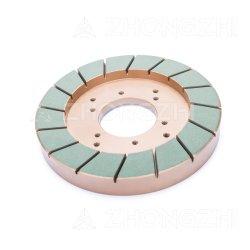 250mm, die segmentiert werden, Harz-Verpfänden die Diamant-Hilfsmittel, die Rad für keramisches quadrieren