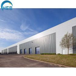 Prefabricated 강철 지붕은 금속 차고 아치 건물을 묶는다