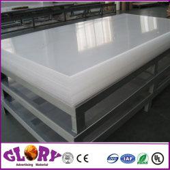 PMMA transparente de plástico acrílico colado Placa y lámina de acrílico