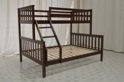 子供のためのホーム家具の純木の二段ベッド