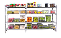 مخزن رف رفّ [شلزر] بلاستيك [نف] [فلتد] بيئيّة طعام غرفة باردة رف التخزين