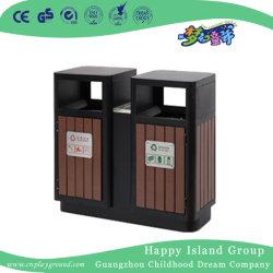 De nouveaux matériaux composites Wood-Plastic commercial extérieur poubelle (HHK-15201)