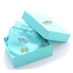 個人的な宝石類のポーチが付いている卸し売り注文のロゴのスライディング・ドローの箱 宝石類の包装セットを設計しなさい