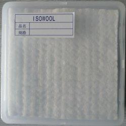 1260couverture en fibre de céramique 7200x600x25 3600x600x25 128 kg/m3 Kaowool Isowool matériau à isolation thermique
