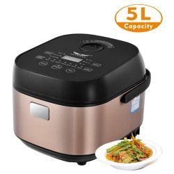 Electrodomésticos eléctricos de la cocción de arroz, avena, pastel, vapor, sopas, guisos menús Multiusos 5L
