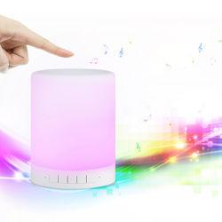 Activo Reloj RGB Control de altavoz inalámbrico Bluetooth APP luz LED lámpara de escritorio