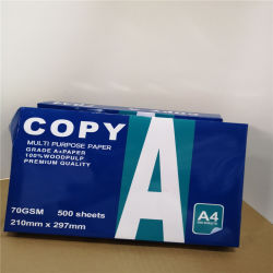 인쇄하거나 오프셋 인쇄 Laser를 위한 높은 광도 A4 종이