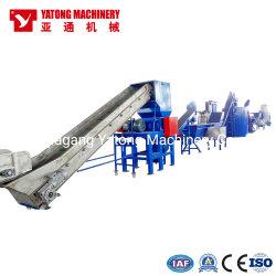 آلة إعادة تدوير الأفلام Yatong PE PP HDPE / سحق البلاستيك والغسيل / الدافعة / آلة إتلاف الورق