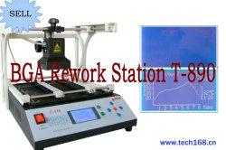 Station T-890, station de soudure infrarouge, kit de BGA Reballing, carte mère de reprise de BGA réparant des outils, station de reprise de SMD