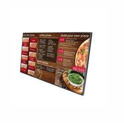 Aangepast 32-inch ultradun digitaal LCD-scherm voor restaurant