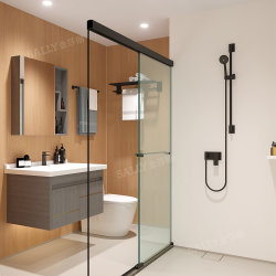 Tile Wall Bathroom Pods Modular CompleteのサリーPrefabricated Bathroom Pod Steel Pod