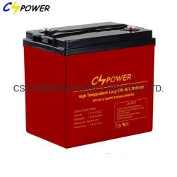 Batterie Cspower Htl6V210ah longue durée de vie batterie au gel à cycle profond pour le système UPS Vs Leoch