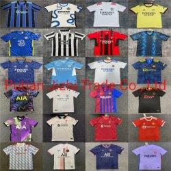 Groothandel Goedkope 2021 seizoen Voetbal Club Nationaal Team Jerseys Voetbal T Shirt kleding