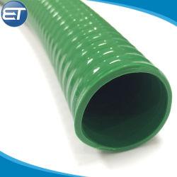 Resistente a abrasão de agricultura o PVC flexível do tubo de borracha de aspiração da bomba de água