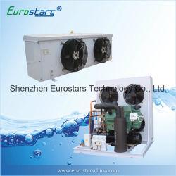Unité de condensation de compresseur semi-hermétique de 2 étapes de R404A refroidie par air Bitzer