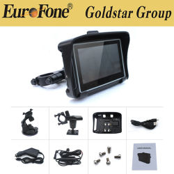 4,3 pouces pour l'auto voiture de l'unité GPS de navigation GPS de 4 Go MP3 MP4 FM USA ca nouvelle carte