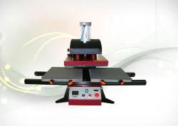 Pnematic Estación Doble calor automática Máquina de prensa