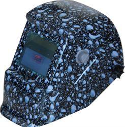 Камень изображение солнечной энергии автоматического затемнения сварки шлем