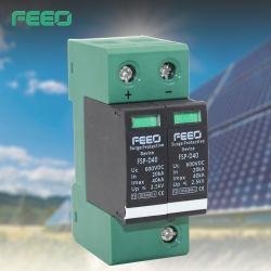直流 Sun パワー SPD 20-40kA 2p 600V サージ保護