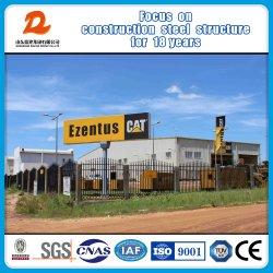 Ezentus 고양이 남쪽 수단에 있는 판매 센터를 위한 조립식 강철 구조물 집 또는 홈 또는 건물