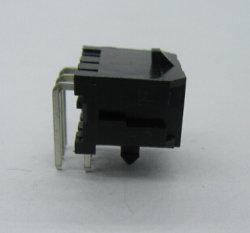 Barre de coupe à angle droit, double rangée, avec Snap-in en plastique du connecteur Micro-Fit 3.0mm