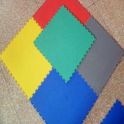 Tegel van het Pakhuis van de Tegel van de Vloer van de Bevloering van pvc de Met elkaar verbindende Plastic Op zwaar werk berekende