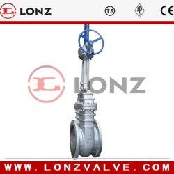 API côté flasque en acier moulé de la CAT de la valve