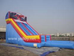 Glissière gonflable en PVC avec piscine à eau