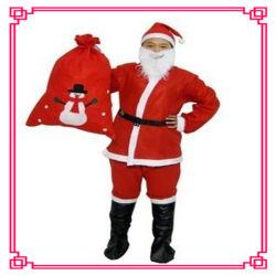 Barato preço de fábrica Santa Promoção vestido de Natal