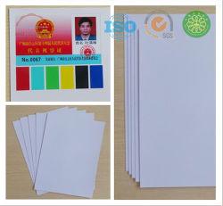 Van Inkjet Geschikt om gedrukt te worden Plastic pvc- Blad voor het Maken van de Kaart van pvc