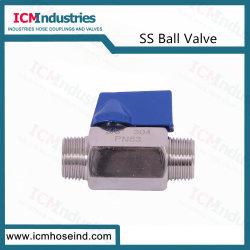 Gaz haute pression 316/304 clapets à bille en acier inoxydable