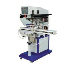 Spion-automatischer Mehrfarbenauflage Tampo Drucker für Kennsatz-Tuch-Platten-Cup