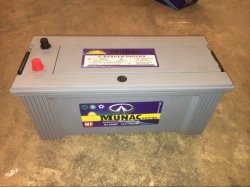 Munac N150mf 12V150ah メンテナンスフリーの自動車バッテリー