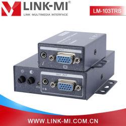 VGA Over Cat5e/6 Extender di Collegamento-MI Lm-103trs Factory Direct Sale con Audio 300m