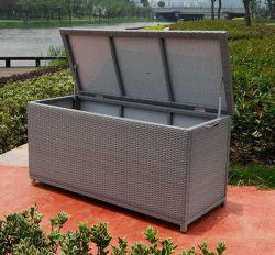 Практические плетеной мебелью ящик для хранения