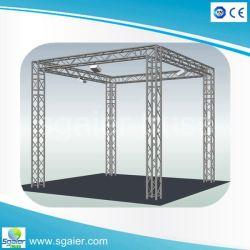 Estructura de aluminio de fabricación de la armadura de aluminio Prefabricate stand de exhibición