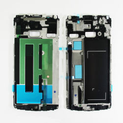 شاشة LCD شاشة اللمس جهاز الالتقاط الرقمي لـ Samsung Galaxy Note4 Frame
