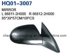 Rétroviseur arrière auto pour Hyundai Elantra 2007-2010 (OEM#000/86812 86811-2H-2H000)