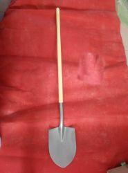 S518L nova chegada: pá de aço carbono com um grau de longa recta pega de madeira