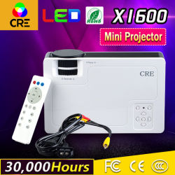 1000 Lumens Mini projector LCD Cinema em Casa